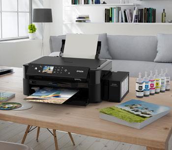 Descriere Multifunctional inkjet color EPSON L850 CISS, A4, USB