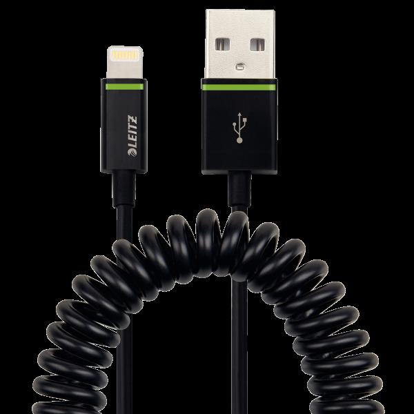 Descriere Cablu de date - USB, 1m, LEITZ Complete Lightning