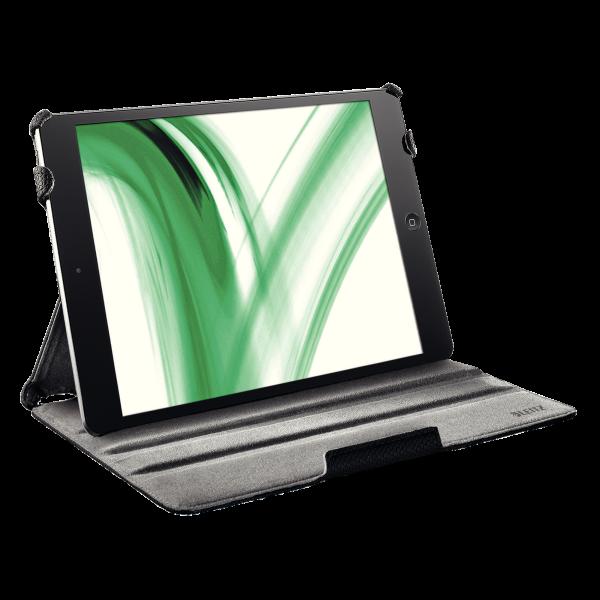 Descriere Carcasa cu capac pentru iPad Air, negru, LEITZ Complete Smart Grip