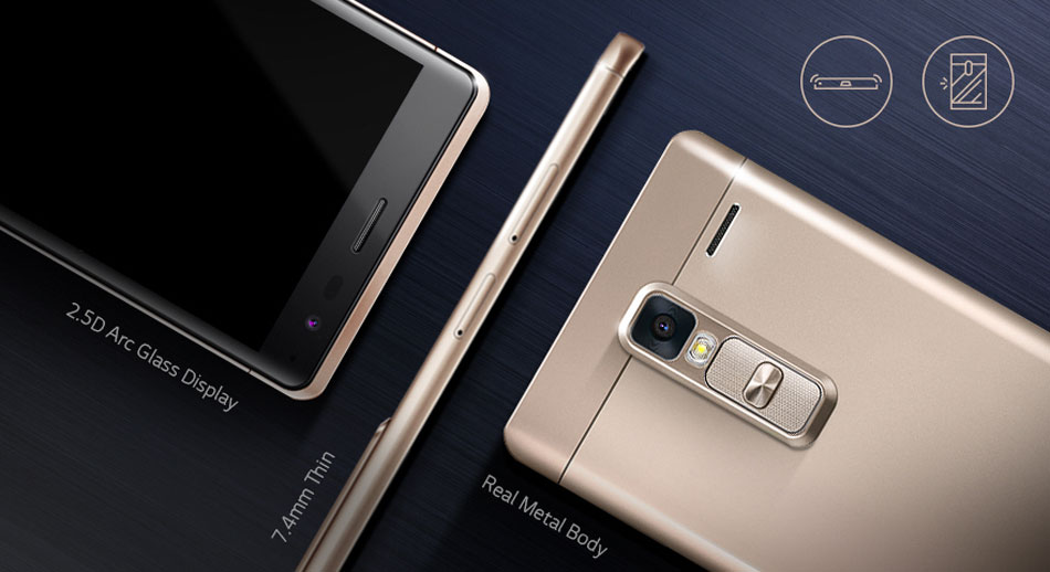Descriere Smarphone LG Zero H650, 16GB, Gold
