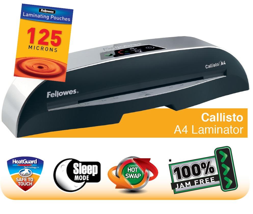 Descriere Laminator A4, FELLOWES Callisto