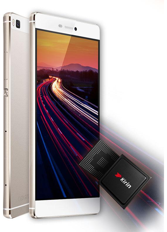 Descriere Smartphone HUAWEI P8, 16GB, 4G, Titanium Grey