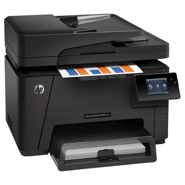 Descriere Multifunctional laser color HP Color LaserJet Pro MFP M177fw, A4, USB, Retea, Wi-Fi