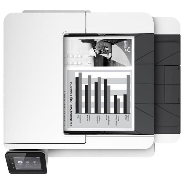 Descriere Multifunctional laser monocrom HP LaserJet Pro MFP M426fdn, A4, USB, Retea