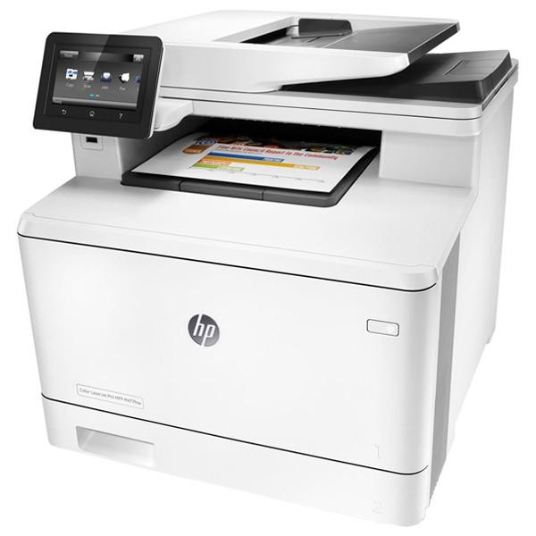 Descriere Multifunctional laser color HP LaserJet Pro MFP M477fnw, A4, USB, Retea, Wi-Fi