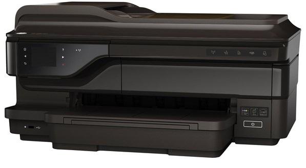 Descriere Multifunctional inkjet color HP Officejet 7612 e-All-in-One de format lat, A3+, USB, Retea, Wi-Fi