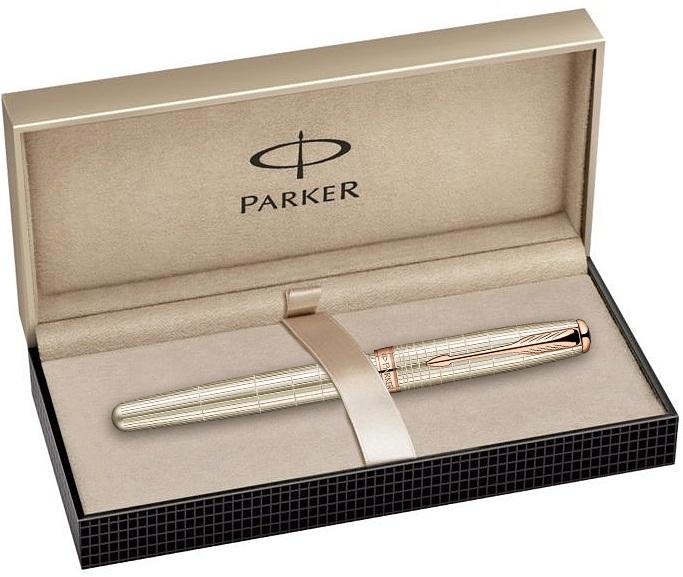 Descriere 5th element, PARKER Sonnet Velvet Sterling Silver GT