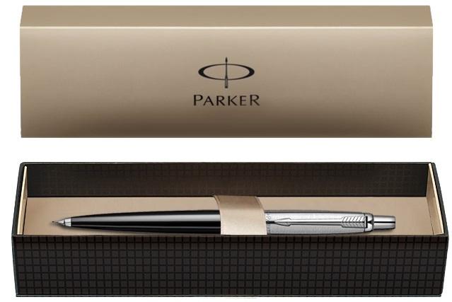 Descriere Creion mecanic, PARKER Jotter Standard Black CT