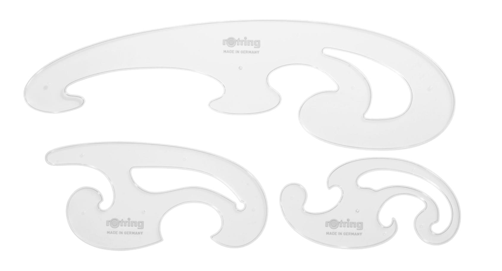 Descriere Florare, diferite dimensiuni, 3 buc/set, ROTRING Centro