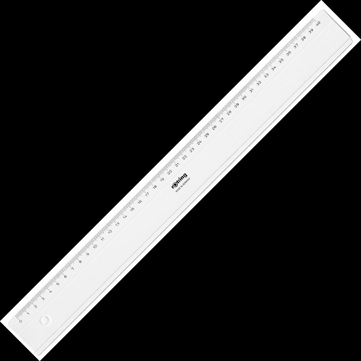 Descriere Rigla, 40cm, ROTRING Centro