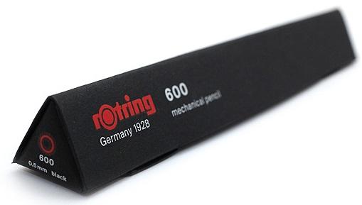 Descriere Creion mecanic, 0.5mm, negru, ROTRING 600