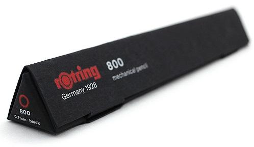 Descriere Creion mecanic, 0.7mm, negru, ROTRING 800