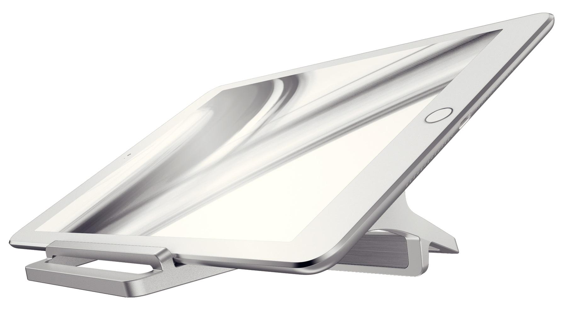 Descriere Suport pentru Tableta, metalic, Leitz Style
