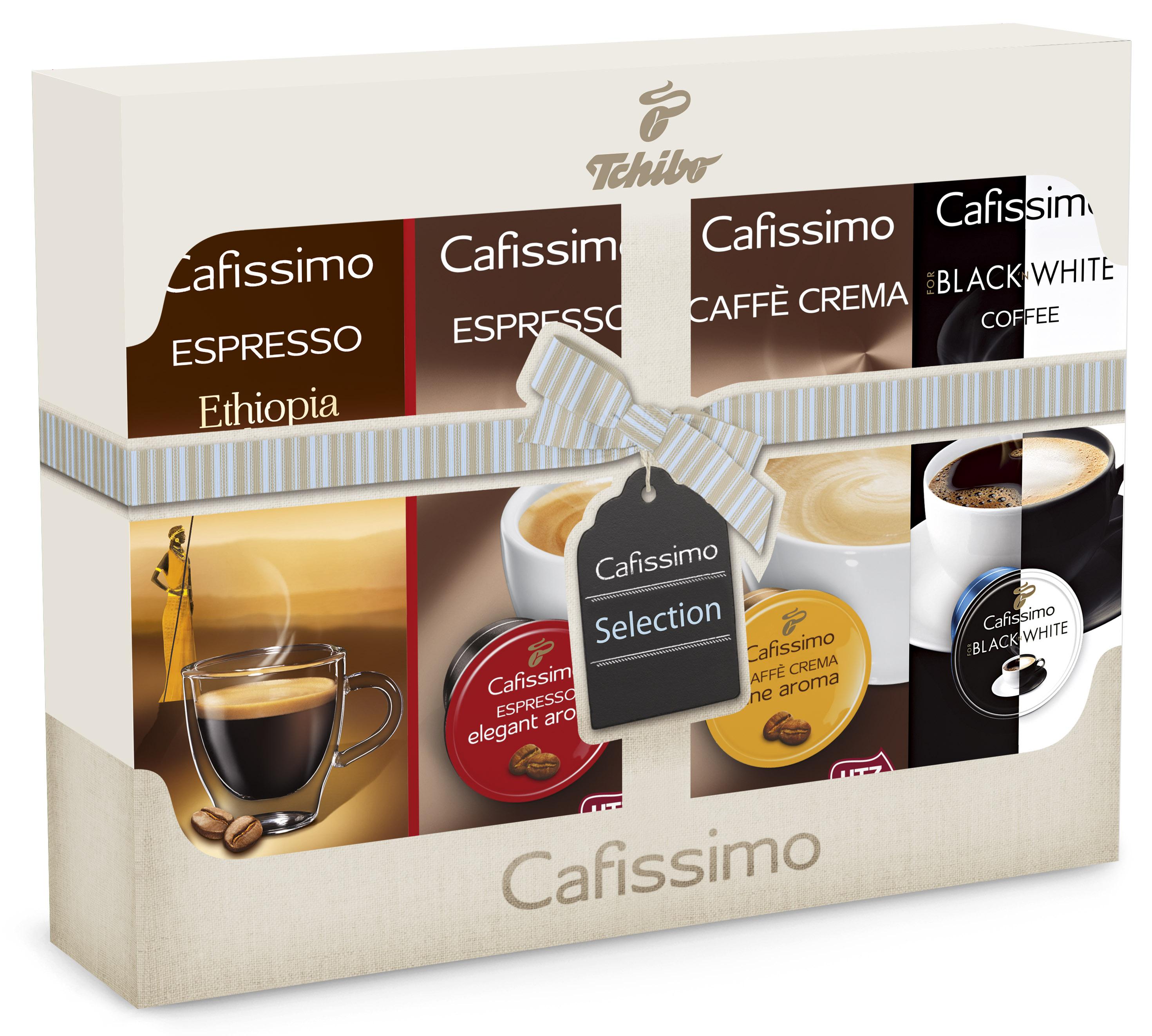 Descriere Capsule cafea, 40 capsule/set, TCHIBO Cafissimo Selection