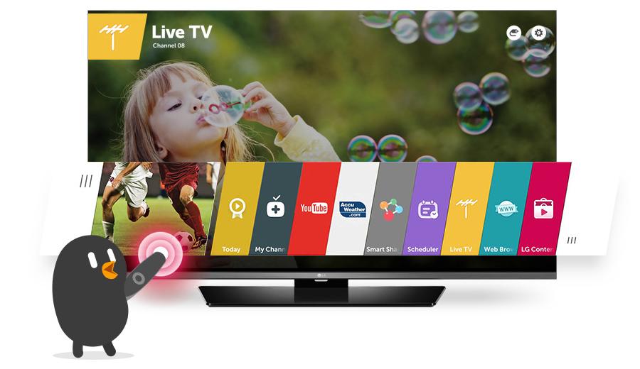 "Descriere Televizor LED LG 49UF6407 49"", 4K Ultra HD, Smart TV, webOS 2.0 Lite, Triple XD Engine, CI+"
