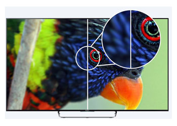 "Descriere Televizor LED SONY BRAVIA KDL-43W808C 43"", Full HD, 3D, Smart TV, Motionflow XR 1000 Hz, X-Reality PRO, Android TV, CI+"