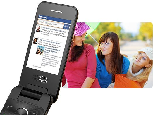 Descriere Telefon mobil, dual-sim, white, ALCATEL 2012D