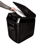 Descriere Distrugator de documente, maxim 130 coli, cross cut (confeti), FELLOWES AutoMax 130C
