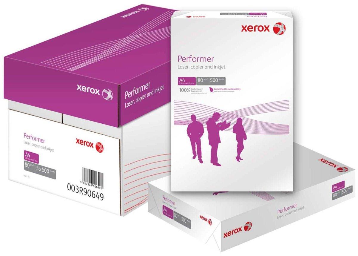 Descriere Hartie la palet, A4, 80 g/mp, 240 topuri/palet, XEROX Performer