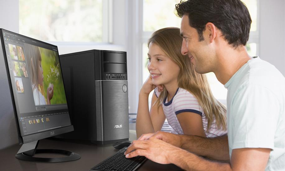 Descriere Desktop PC ASUS M52AD-XTREME-RO011, Intel Core i5-4460 3.2GHz, 8GB, 1TB, DVD-RW, nVidia GeForce GTX 760 3GB, free Dos