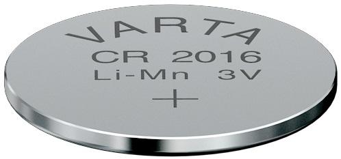 Descriere Baterie CR2016, litiu, 3V, VARTA