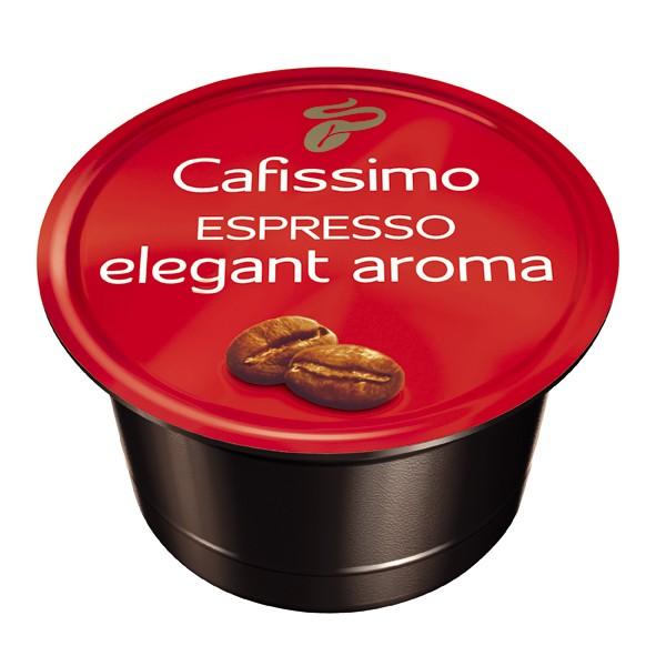 Descriere Capsule cafea, 10 capsule/cutie, Espresso, TCHIBO Cafissimo Elegant Aroma