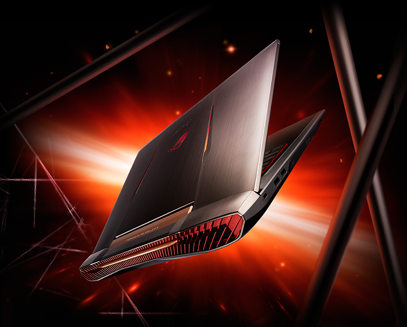 "Descriere Laptop ASUS ROG G752VY-GC299T 17.3"" FHD, Intel® Core™ i7-6820HK pana la 3.6GHz, 64GB, 1TB HDD + 2 x 256GB SSD, nVIDIA GeForce GTX 980M 8GB, Windows 10"
