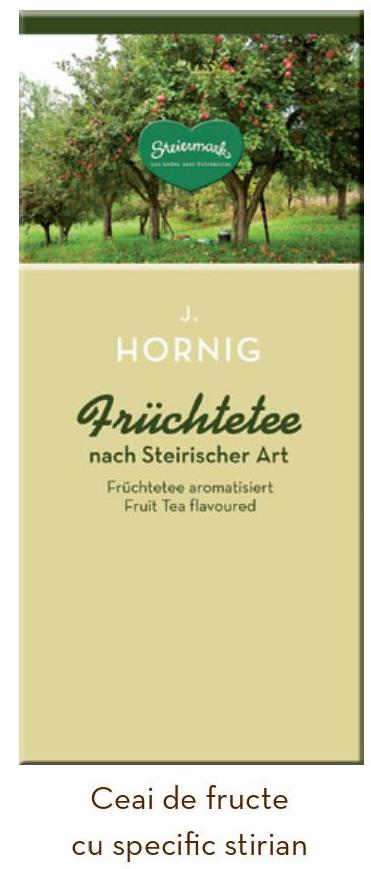 Descriere Ceai de fructe stirian, 25 plicuri/cutie, J. HORNIG