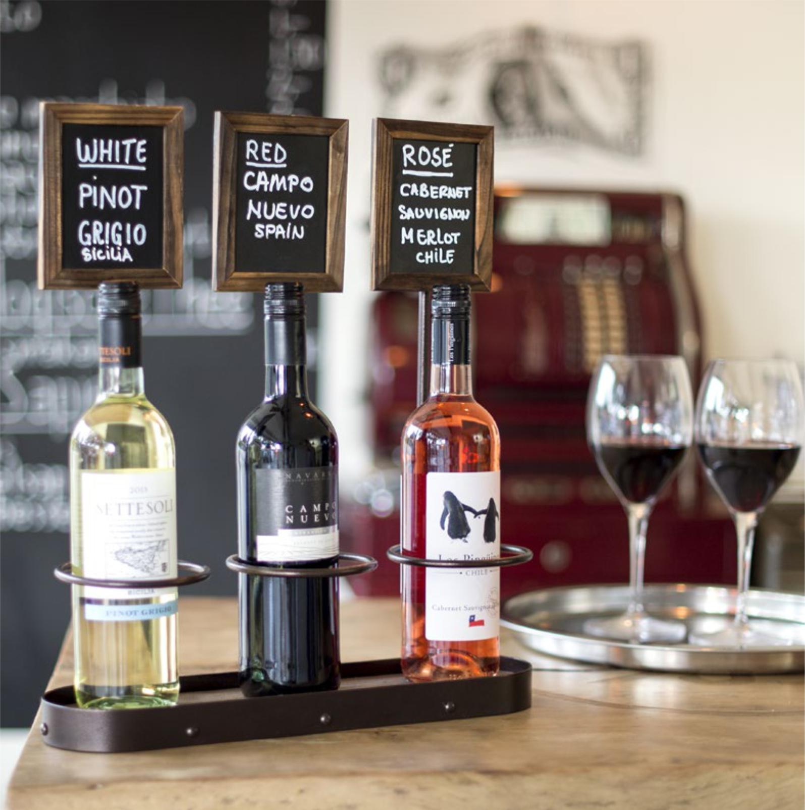 Descriere Suport pentru sticla de vin, SECURIT