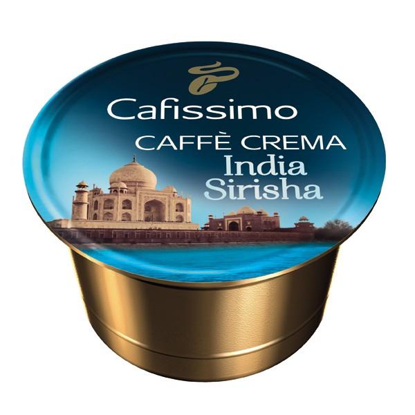 Descriere Capsule cafea, 10 capsule/cutie, Caffe Crema, TCHIBO Cafissimo India Sirisha