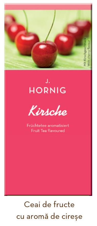 Descriere Ceai de cirese, 25 plicuri/cutie, J. HORNIG