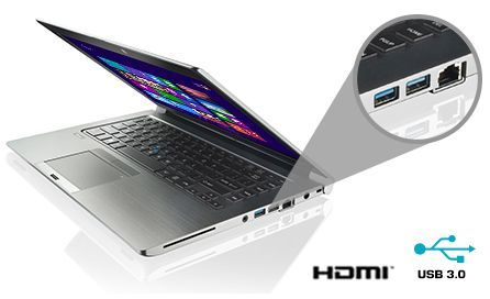 "Descriere Laptop TOSHIBA Tecra Z40-A-15N, 14"", i7-4600U, 4GB, 500GB, Win8P + CADOU Tableta ASUS ZenPad"
