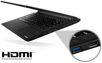 "Descriere Laptop TOSHIBA Satellite C40-C-10K, Intel® Celeron® N3050 pana la 2.16GHz, 14.0"", 2GB, 32GB, Intel® HD Graphics, Windows 8.1"