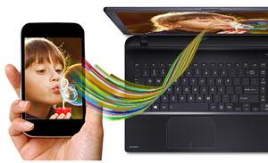"Descriere Laptop TOSHIBA Satellite L50-B-1DH, Intel® Core™ i3-4005U 1.7GHz, 15.6"", 4GB, 500GB, Intel® HD Grafics 4400, Free Dos"