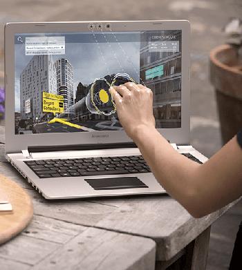 "Descriere Laptop LENOVO Z51-70, 15.6"" Full HD, Intel® Core™ i5-5200U pana la 2.7GHz, 8GB, 1TB, AMD Radeon R9 M375 4GB, Free Dos"