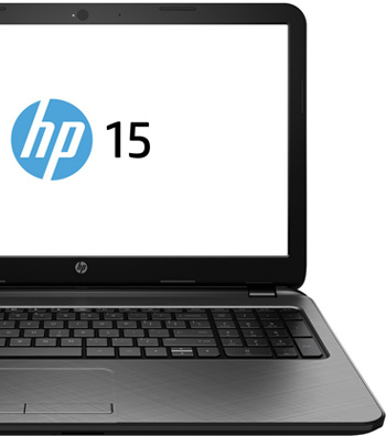 "Descriere Laptop HP 15-r205nq, Intel® Core™ i5-5200U pana la 2.7GHz, 15.6"", 4GB, 1TB, nVIDIA GeForce GT 820M 2GB, Free Dos"