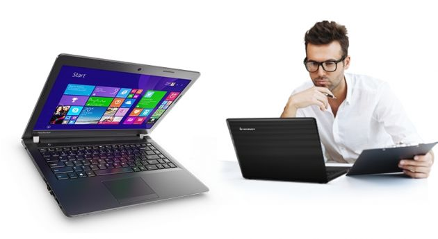 Descriere Laptop LENOVO 100-15IDB, ecran 15,6'', Intel Core i3-5005U, RAM-4GB, HDD-500GB, nVidia GT920M, No OS, Black