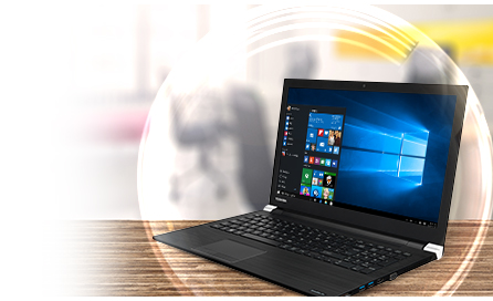 "Descriere Laptop TOSHIBA Satellite Pro A50-C-10H Procesor Intel® Core™ i5-5200U pana la 2.70 GHz, 15.6"", 8GB, 500GB, nVidia GeForce 930M, Win7 Pro 64 + Win8.1 Pro 64"