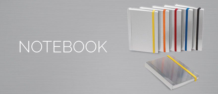 Descriere Caiet de birou A5, rosu, din imitatie de piele, FEDON Notebook