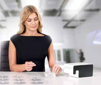 Descriere Imprimanta de etichete, LEITZ Icon