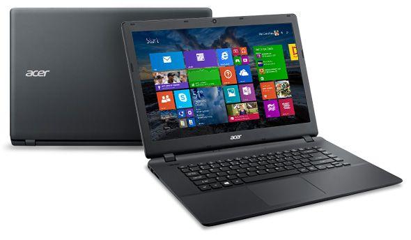 "Descriere Laptop ACER Aspire ES1-512-C0BA, ecran 15.6"", Intel® Celeron® Dual Core™ N2840 2.16GHz, RAM-4GB, HDD-500GB, Linux, Black"