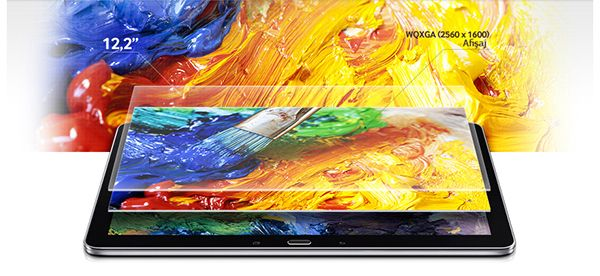 "Descriere Tableta, Cortex A15 Quad-Core 1.90GHz + Cortex A7 Quad-Core 1.30Ghz, 12.2"", 3GB RAM, 32GB, Wi-Fi, black, Samsung Galaxy Note Pro P900"