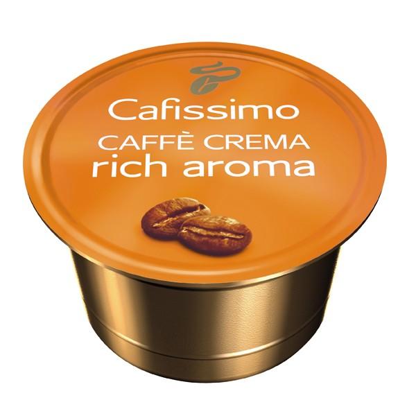 Descriere Capsule cafea, 10 capsule/cutie, Caffe Crema, TCHIBO Cafissimo Rich Aroma