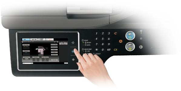 Descriere Multifunctional, color, A4/A3, SHARP MX-2614N + MX-DE12 + Set Tonere