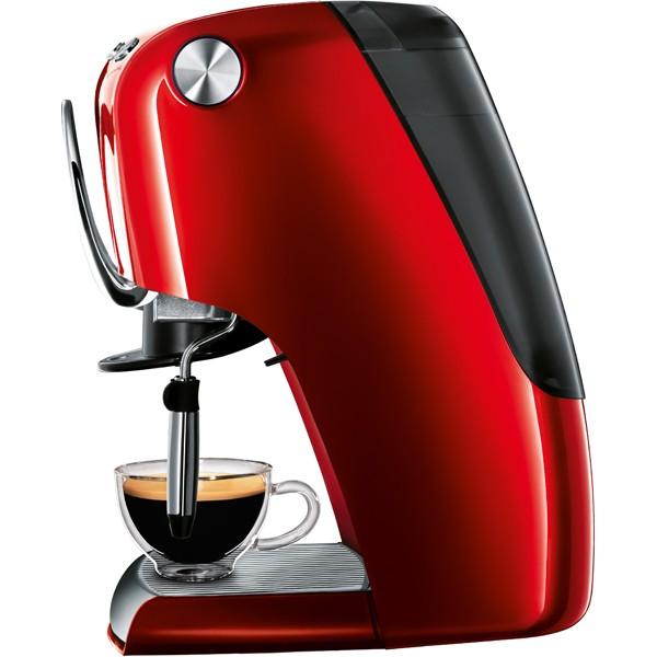 Descriere Aparat de cafea, 1.5L, rosu, 15 bar, Espressor TCHIBO Cafissimo Classic