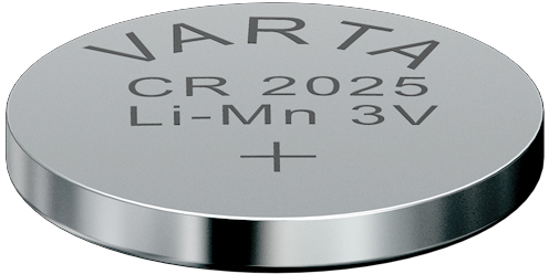 Descriere Baterie CR2025, litiu, 3V, VARTA