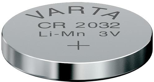 Descriere Baterie CR2032, litiu, 3V, VARTA