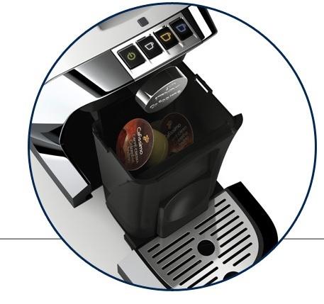 Descriere Aparat de cafea, 0.7L, rosu, TCHIBO Cafissimo TUTTOCAFFE
